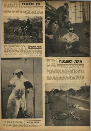 העולם הזה - גליון 805 - 29 במרץ 1953 - עמוד 8   יום אחד פנה אלינו אחד מותיקי שועלי שמשון, ביקש עצה איו להנציח אח שם היחידה