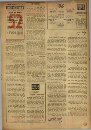 העולם הזה - גליון 892 - 18 בנובמבר 1954 - עמוד 2   מכתבים מעירך ואדי *מר׳ ח ה ממערכת : שנר רעים יצאו דדו־ד • לו ס סזז *יוץ־ סעג3״ כיתוב 5ירך פשטי.״ תמית לביא ר.ע 1ב!עון ר.מצויר ל א• נ פ 1ר מ צי ה המנהל הכללי :