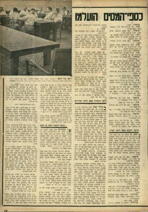 העולם הזה - גליון 934 - 8 בספטמבר 1955 - עמוד 19 | ועכשיו ישב מר אבא חושי, מבלי שאיש פרם לפרייליך וצרפתי יבין זאת, בלב ליבה של ביצת־החקירות. … פרטית של אבא חושי, כיוון שצרכי־ה־כאחד מאלה העומדים לימיננו במפעלנו