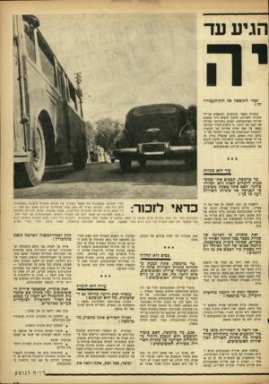 העולם הזה - גליון 961 - 15 במרץ 1956 - עמוד 15 | הגיע עד ומהי התוצאה של חוק-תעכורה זה ץ הפחתת מספר הנוסעים, הנחטפים על־ידי מוניות השירות, חייבת להביא לידי צמצום שירות האוטובוסים, לפגיע ביעילותו ועלולה אף לסכן