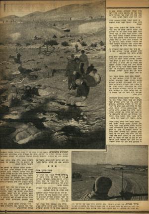 העולם הזה - גליון 995 - 7 בנובמבר 1956 - עמוד 5 | בדרך ספגה שנה. יותר. העולה לכונתילד״ מצודת צבא זו כבר את מהלומת כוחות צה״ל לפני עתה היה הקרב קצר ותכליתי הרבה תוך דקות הושמד המוצב כולו. קו ההגנה המצרי במורח